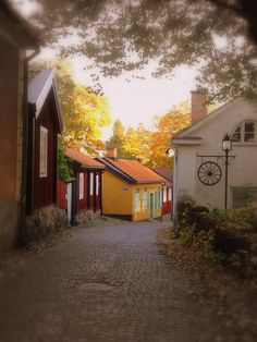 Old City in Vasteras, Vastmanland, Sweden