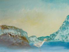 Sidney Nolan (Australian, Bird In Landscape, Ripolin on composition board, 90 x cm Sidney Nolan, Elle Decor, Watercolor Illustration, Composition, Aqua, Bird, Landscape, Elegant, Rose
