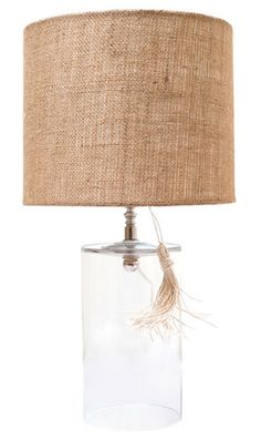 Pretty lamp by ro sham beaux X 23, Ro Sham Beaux, Old Wood Floors, Glass Lamp Base, Contemporary Table Lamps, Shop Lighting, Lighting Design, Floor Lamp, Light Fixtures