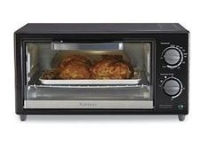 Countertop 4Slice Toaster Oven  Black by Kenmore -- Click image to review more details.