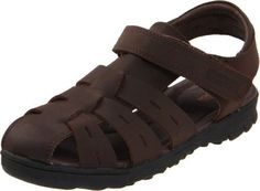 Kenneth Cole Reaction Doing Climb Fisherman Sandal (Little Kid/Big Kid) Kenneth Cole REACTION. $40.58. Flexible TPR outsole with added tread for durability. Rubber sole. Hook and loop closure. leather. Keep him comfy as well as stylish in this classic fisherman dress sandal. Leather upper