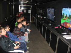 This would be an interesting birthday party idea, fundraiser!  UMG Truck (Ultimate Mobile Gaming)