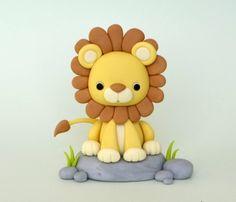 Löwe aus Knete mit Kindern basteln – Bastelanleitung-dekoking-com