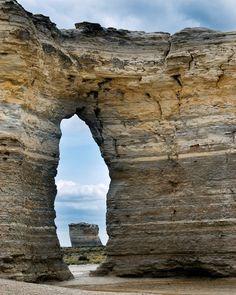Monument Rocks, Kansas, USA