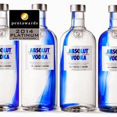 Platinum Pentawards 2014, categoría la mejor bebida Marca: Vodka Absolut, diseño: Happytear, Suecia