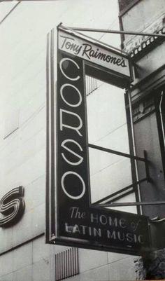 """EL CORSO...YO LO VIVI...ALLI PUDE DISFRUTAR DE NUESTRA MUSICA LATINA EN VIVO Y COMPARTIR CON ALGUNOS DE ELLOS : Larry Harlow,Pacheco, Pete """"el Conde"""", Louie Ramirez, Luis, """"Perico""""Ortiz ,Hector Lavoe ,Ruben Blades entre otros que contribuyeron a esta bella epoca de la musica latina en New York.The Corso in NYC (86th street, between 2nd & 3rd Aves),"""