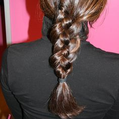 How-To: Learn a Four-Strand Braid - www.bellasugar.com