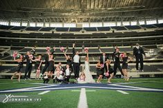 They had their wedding in the Dallas Cowboys stadium, now you might be able to convince your fiance to hurry up and marry you ;)