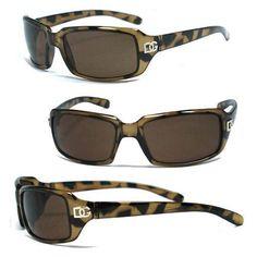 Dg Women Sunglasses + Free Pouch - T. Brown Animal Print Dg159
