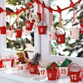 Easy and sweet Advent calendar!