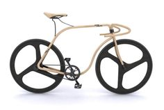London-based designer Andy Martin and furniture company Thonet are teaming up to make a road bike from beech wood. But anyone who wants to buy it will have to visit a branch of their bank, as it will cost a staggering £43,715.