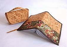 Papiernictvo - Obal A5 - jeseň s medom - 7179664_ Wallet, Pocket Wallet, Diy Wallet, Purses, Purse