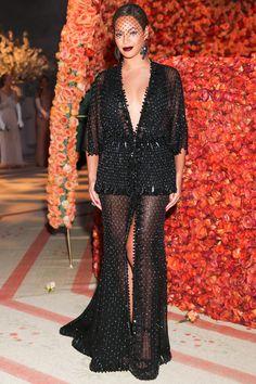 At the MET Gala in Givenchy, 2014   - HarpersBAZAAR.com