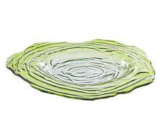 Блюдо VIVACE - стекло - зеленый - В6хØ46