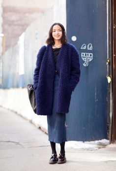 #XiaoWenJu looking well cool #offduty in NYC.