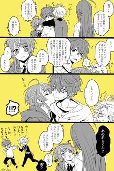 "shiki@🥂👔 on Twitter: ""#平成最後に自分史上一番バズった画像を貼る  これです。通知が止まらなくてビクビクしてた。… "" Mic Drop, Rap Battle, Manga Pages, Cute Anime Boy, Manga Comics, Manga Drawing, Drawing Reference, Division, Manga Anime"