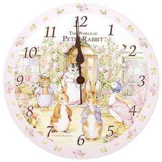 Beatrix Potter Peter Rabbit Wall Clock  $44.99