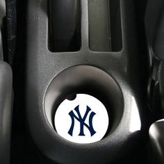 New York Yankees 2-Pack Absorbent Car Coasters
