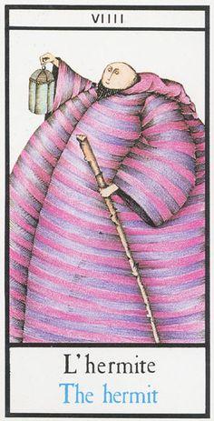 IX. The Hermit - Maddonni Tarot by Silvia Maddonni