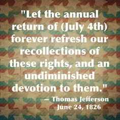 july 4 1826 day of the week
