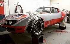 custom corvette widebody kit. fender flares