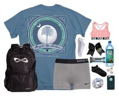 """""""cheer☀"""" by lydia-hh ❤ liked on Polyvore featuring NIKE, Mikimoto and OtterBox"""