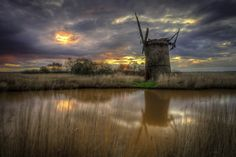What remains of an old mill in Norfolk, Virginia. Beautiful image!