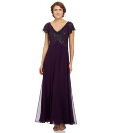 Shop for Jkara Petite Beaded Ruffle-Sleeve Gown at Dillards.com. Visit Dillards.com to find clothing, accessories, shoes, cosmetics & more. The Style of Your Life.