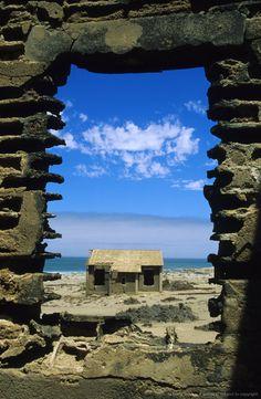 Abandoned house, Elizabeth Bay, Luderitz District, Namibia