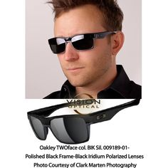 oakley twoface chrome