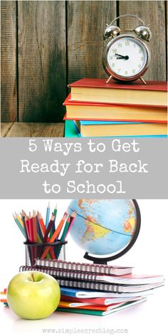 I love the Fall season and find back to school time as the perfect opportunity to reorganize and reboot the family. Let's get ready!