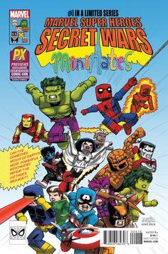 Marvel Secret Wars #4 Complete Variant Covers [IMAGE GALLERY] | Vertigology