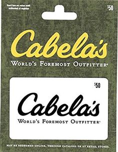 Amazon Lightning Deal Get $50 Cabela's Fandango/Darden or Ruby Tuesday for $40. Begins Today 3pm ET Prime Members