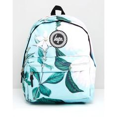 Hype Exclusive Leafy Floral Backpack ( 39) ❤ liked on Polyvore featuring  bags, backpacks 64e348e242