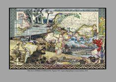 MALALA ANDRIALAVIDRAZANA (°1971) Madagaskar Contemporary Artists, Vintage World Maps, Painting, Madagascar, Painting Art, Paintings, Painted Canvas, Drawings