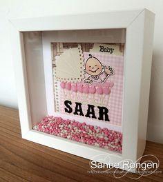 Babylijst Saar Baby Shower Gift Basket, Baby Shower Gifts, Baby Gifts, Baby Silhouette, Baby Presents, Baby Box, Marianne Design, Home And Deco, Baby Design
