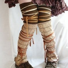 Learn to make your own DIY upcycled legwarmers with these creative and eco-friendly ideas!
