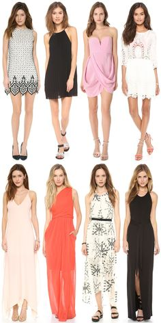What to wear to a wedding or graduation.