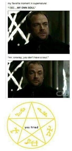 Crowley #spn
