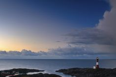 Eigerøy fyr by Thorstein Kleppe Berg on Toothless, Lighthouse, Norway, I Am Awesome, Clouds, Deviantart, Sunset, Wallpaper, Beach