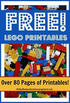 Free LEGO� Printables! We have a brand new series at Homeschool Encouragement which I think your children are going to love! �Each week, we are rolling out three new free LEGO� printables to use in your homeschool. �As new pages are added, I will link to them here so that you can find everything from �