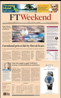FT Weekend Leicester House, Nigel Farage, Pirate Life, Financial Times, Co Founder, Fast Cars, Journaling, Diaries