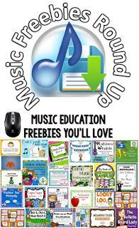 Music teacher freebies? Got 'em! This list features free resources that you can download now and use tomorrow in your classroom. Music history, composers, rhythm, melody, instruments and more downloads await! Most of the resources are geared towards elementary classes, but several would work well in middle school and high school general music classes.