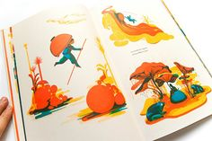 New work from French book magicians, Icinori
