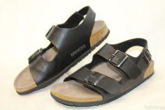 Birkenstock Germany Made Womens 8 39 Milano Ankle Strap Sandals Shoes ef #Birkenstock #AnkleStrap