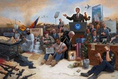 A new painting by controversial artist Jon McNaughton depicting the Obamanation of Barack Obama is becoming quite popular. Please see the video below for a full explanation of the painting by Jon himself Barack Obama, Jon Mcnaughton, Politisches System, Forgotten Man, Litho Print, World View, Obama Administration, Messages, Way Of Life