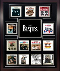 Amazon.com: The Beatles US Album Discography Collage: Photographs