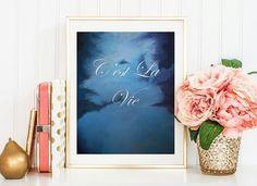 C'est La Vie  Such Is Life. Original Print 8.5 x by MLpaintings