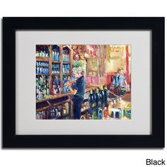 Richard Wallich 'Fullers 2' Framed Matted Art