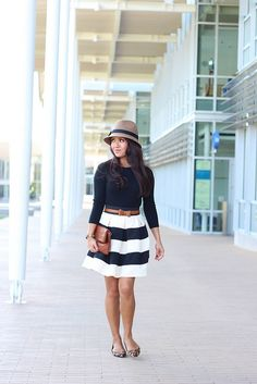 Cashmere, Stripes and Leopard-5 by Stylish Petite, via Flickr